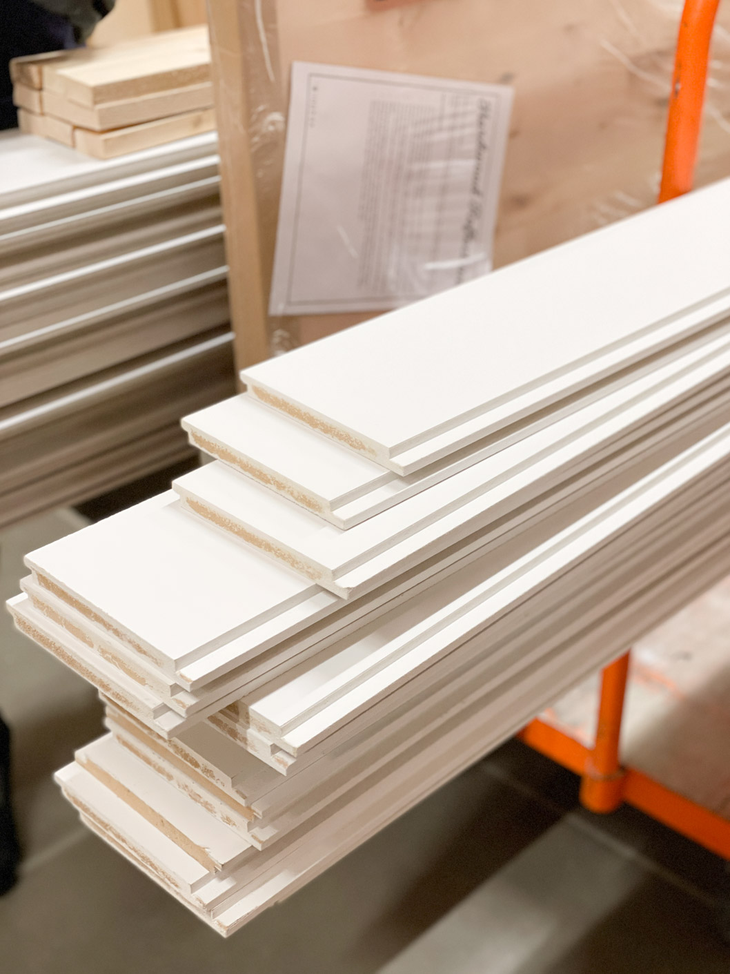 a picture showing white shiplap