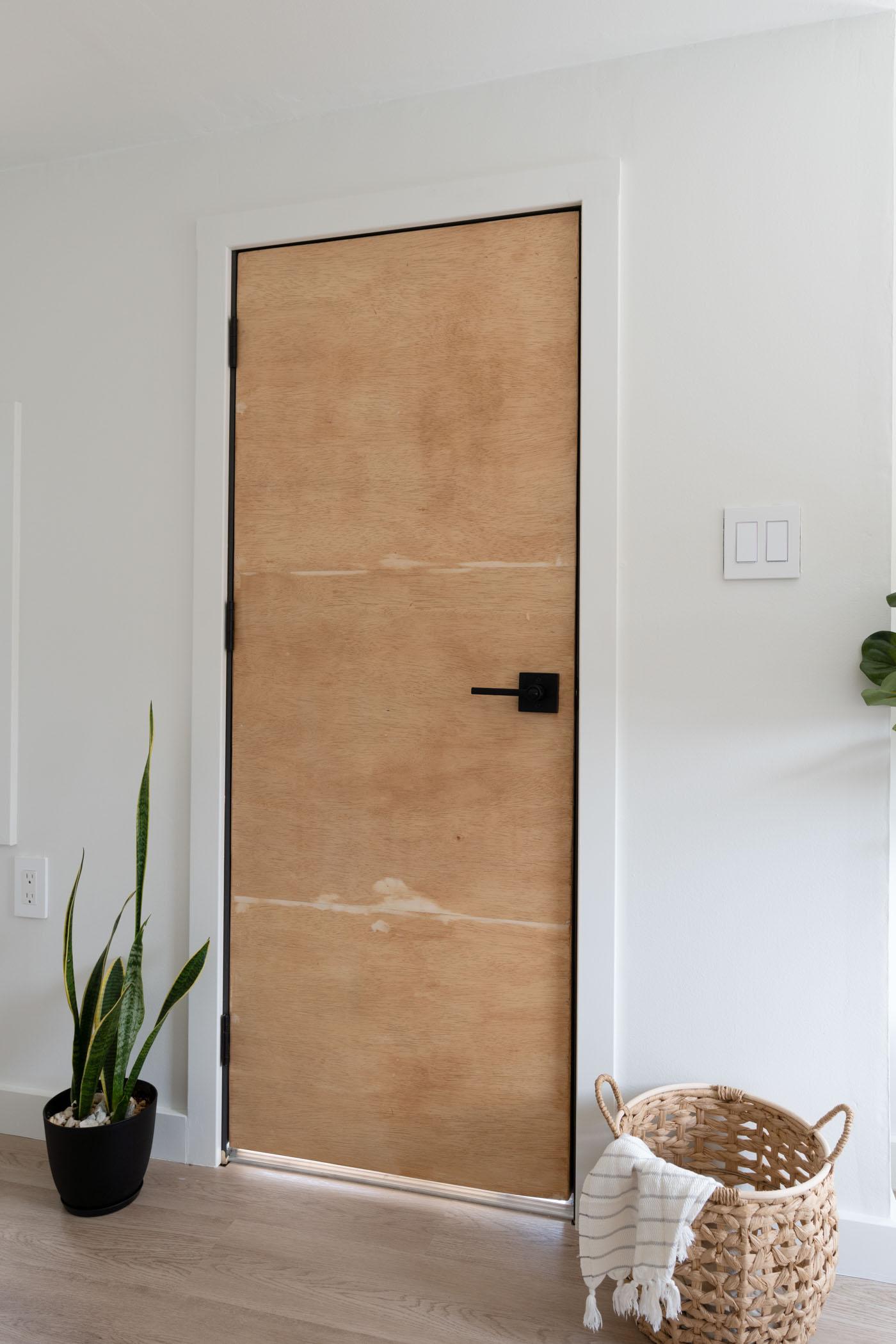 DIY interior door view